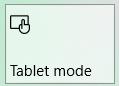 تصویر از Tablet Mode در ویندوز ۱۰