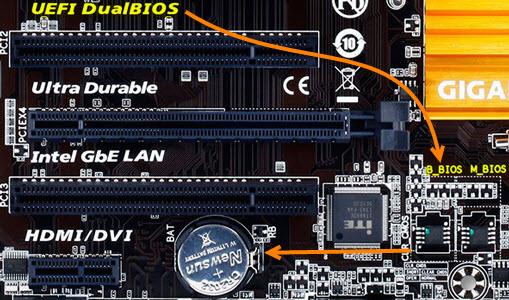 تفاوت BIOS با UEFI